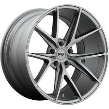 Niche M116 Misano 17x8 5x114.3 +40mm Anthracite Wheels Rims