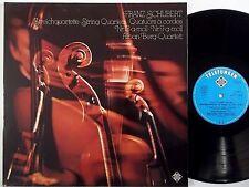 ALBAN BERG QUARTET Schubert Qrts 13,9 TELEFUNKEN LP 6.41882 NM