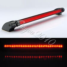 Universal 32 LED Red 12V Car Auto Third Brake Stop Tail Light Fog Warning Lamp