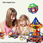 138PCS Similar Magformers Toy 3D Bricks Magnetic Building Blocks Educational Toy
