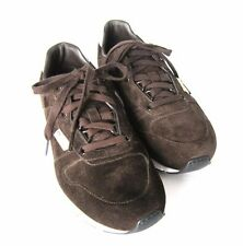 S-770130 New Gucci Queen Reflex Brown Suede Sneakers Shoe Size US 9.5/marked 8.5