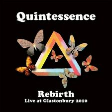 QUINTESSENCE - REBIRTH (LIVE AT GLASTONBURY 2010) CD NEU