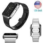 Butterfly Lock Link Bracelet band Strap For Apple Watch iWatch Stainless Steel