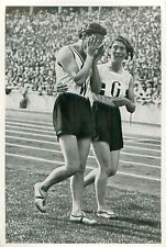Käthe Krauß Kraus Krauss Germany 4x100 Relay SUMMER OLYMPIC GAMES 1936 CARD