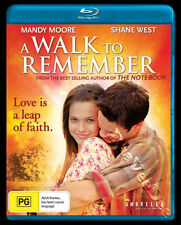A Walk to Remember NEW Cult Blu-Ray Disc Adam Shankman Shane West Mandy Moore