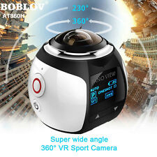 4K Panoramic Ultra HD 2448*2448 Camara Wifi Sport Driving Camera VR 360°View DVR
