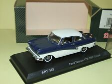 FORD TAUNUS 17M 1957 COUPE Bleu DETAILCARS 382