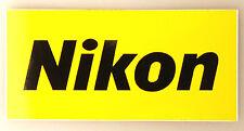 (PRL) NIKON ADESIVO DA COLLEZIONE FOTOCAMERA COLLECTION STICKER CAMERA