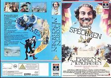 The Adventures Of Baron Munchausen Video Promo Sample Sleeve/Cover #14253