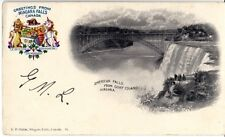 Vintage Niagara Falls American from Goat Island - H.P. Slater 190? Good