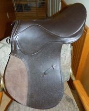 "All Purpose 16"" English Riding Saddle Padded Flap New Never Been Used"