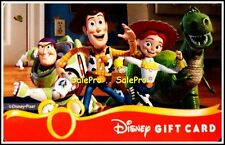 DISNEY USA TOY STORY BUZZ LIGHTYEAR WOODY ANDY & THE GANG COLLECTIBLE GIFT CARD