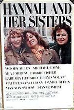 Original 1986 HANNAH & HER SISTERS 1-Sheet Movie Poster-Folded (MHPO-036)