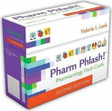 Pharm Phlash! : Pharmacology Flash Cards by Valerie I. Leek (2013,...