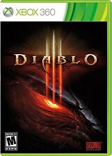 XBOX 360 DIABLO III GAME PAL EXCELLENT CONDITION