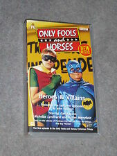 VHS Tape Only Fools and Horses Heroes and Villains Del Boy David Jason Rodney