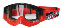 Wulf Wulfsport Adult Quad MX Motorcross Shade Goggle Red One Size BC34549 - T