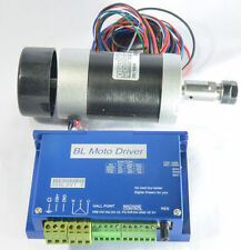 400W Spindle Motor 12000rpm W/ 600W Brushless DC Motor Driver Engraver Motor NEW