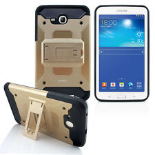 "Samsung Galaxy Tab E Lite 7.0"" T113 Rugged Armor Box Stand Shockproof Cover Case"