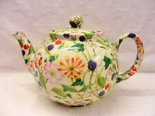 Hedgerow bramble design 6 cup teapot by Heron Cross Pottery