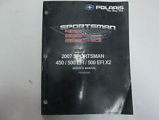 2007 Polaris Sportsman 450 500 EFI 500 EFI X2 Service Shop Repair Manual NEW
