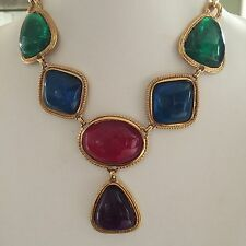 Gorgeous Kenneth Jay Lane Caprianti Collection Statement Necklace