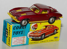Corgi Toys 310 - Chevrolet Corvette Sting Ray in Reprobox