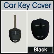 MITSUBISHI LANCER PAJERO OUTLANDER EVO TRITON 2B KEY SILICONE CAR COVER BLACK