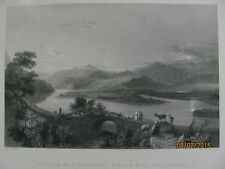 Tributary Stream With The Orontes Copper Engraving Free Combined Shipping #28