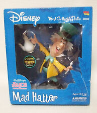 Disney Alice in Wonderland MAD HATTER Medicom Toy NIB Vinyl Collectible