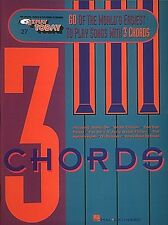 60 of the World's Easiest to Play Songs with 3 Chords Sheet Music E-Z  000001236