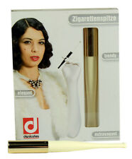Denicotea Cigarette and Filter Holder Lady Ivory & Gold (20203)