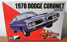 MPC 869 1970 Dodge Cornet Super Bee plastic model kit 1/25