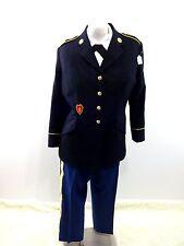 US ARMY WMNS DRESS BLUE UNIFORM JACKET, PANTS, 2 BLOUSES & ACCESSORIES SIZE 16WR