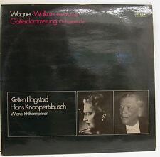 WAGNER WALKÜRE GÖTTERDÄMMERUNG KIRSTEN FLAGSTAD HANS KNAPPERTSBUSCH Do-LP (d958)