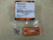 NEW KTM 125 150 200 250 300 450 SX XC SX-F ANODIZED CLUTCH MASTER CYLINDER COVER