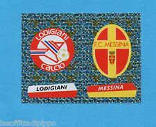 PANINI CALCIATORI 2000/2001- Figurina n.666- LODIGIANI+MESSINA -SCUDETTO-NEW