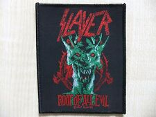 Aufnäher - Patch - Slayer - Root Of All Evil - Overkill - Metallica - Megadeth