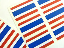 Mini Sticker Pack, Self-Adhesive Thailand Flag Labels, FR249