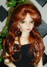 "Doll Wig, Monique Gold ""Destiny"" Sz 8/9 in Double Red"
