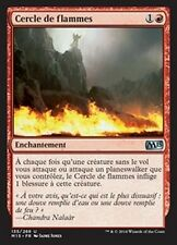 MTG Magic M15 - (4x) Circle of Flame/Cercle de flammes, French/VF