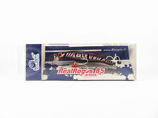 NEW BY BLUSPIN JERK BAIT REAL ROGOS 85 12g 85mm SINKING - COLOR: 85RR131