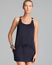 Michael Kors Swimsuit Cover Up Dress Tunic Sz L New Navy NWT