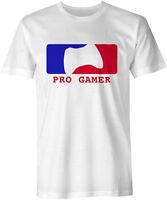 Pro Gamer Gaming Xbox Playstation CoD Halo GTA Tee T-Shirt Mens