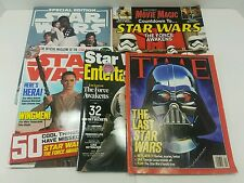 Star Wars Magazine Lot - Time - Entertainment Weekly - Movie Magic