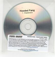 (GH294) Hooded Fang, Wasteland - DJ CD