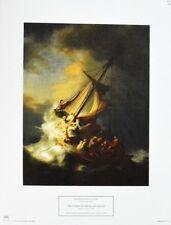 Rembrandt Harmenz van Rijn The Storm on the Sea of Galilee Poster Kunstdruck