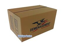 10 CARTONS EMBALLAGE DEMENAGEMENT 545 x 345 x 300 mm