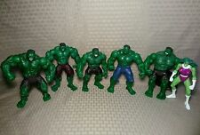 "Marvel 2002-2003 Hulk Movie Figure Lot 7"" Eric Bana"