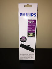 PHILIPS FOLDABLE HDTV TRAVEL ANTENNA SDV5230/27 USB & AC POWER OPTIONS 20db AMP